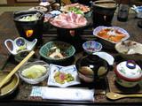 大湯温泉 岡部荘の料理