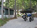 青木湖キャンプ場到着