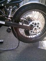 タイヤ組み換え失敗