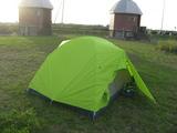鏡沼海浜公園でテント