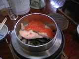 鮭親子釜飯