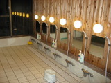 応徳温泉洗い場