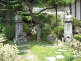 小栗上野介墓