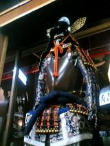 殿様ラーメン店内鎧