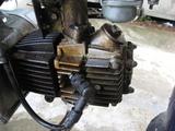 汚いカブ エンジン