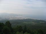 毛無山から小樽を眺める