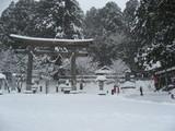 戸隠 雪景色