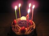 大湯温泉 岡部荘でケーキ
