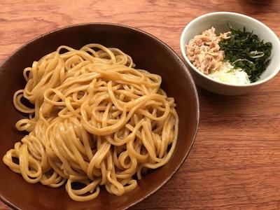 澄まし麺 ふくぼく 神楽坂 醤油かけ麺IMG_0570