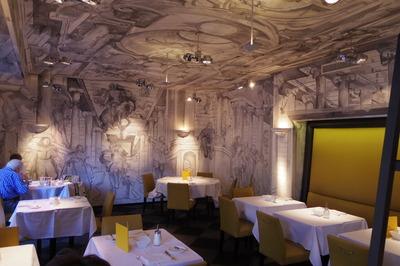 チューリッヒ アンバサダーホテル レストランオペラIMGP3816