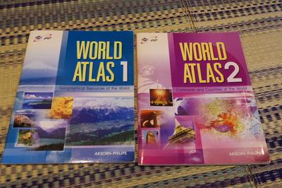 タイ語世界地図帳集めるマニアコレクターIMGP6907