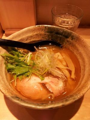 焼きあご塩らー麺たかはし西武新宿20150326_143549