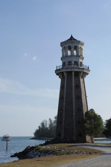 ランカウイテラガハーバーPerdana Quay Light House(灯台)IMGP6102