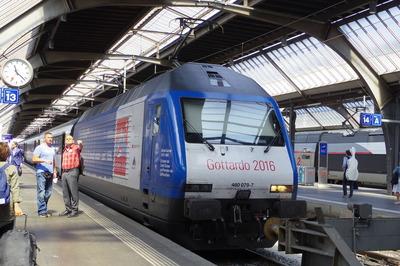 スイス旅行記 チューリッヒ中央駅IMGP3933