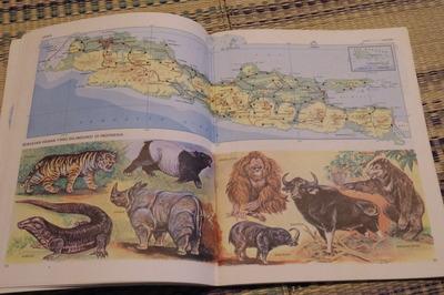 インドネシア語世界地図帳集めるマニアコレクターIMGP6898