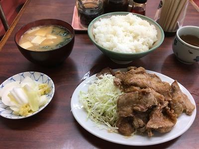 ことぶき食堂荻窪環八ブタカラIMG_2676