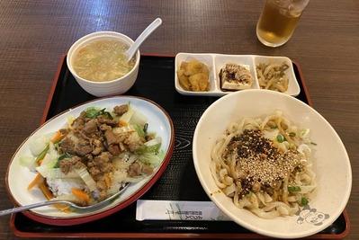 四川料理香王錦糸町甜水麺ランチIMG_6874