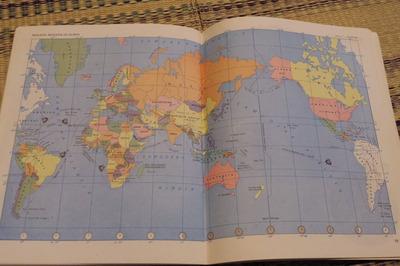 インドネシア語世界地図帳集めるマニアコレクターIMGP6896