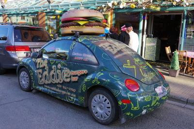 バンフ旅行記 eddie burger エディバーガーIMGP1793
