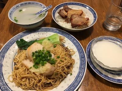 香港麺 新記 四谷三丁目IMG_1508