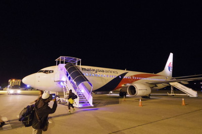 マレーシア航空(MH1456)クアラルンプールランカウイIMGP5894