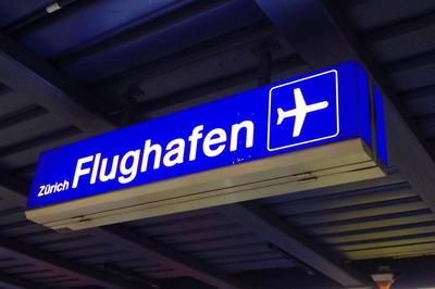スイス旅行記 チューリッヒ空港駅IMGP3937