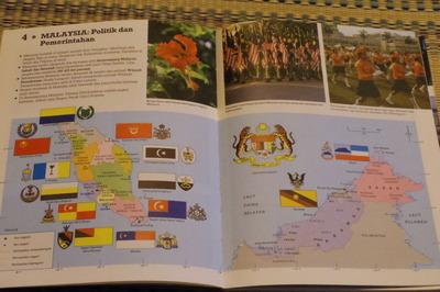マレーシアマレー語世界地図帳集めるマニアコレクターIMGP6793