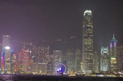 香港 シンフォニーオブライツ 夜景IMGP4109