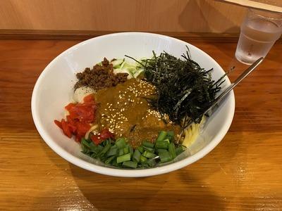 麺屋なつめ上井草カレーまぜそばラーメンIMG_6561