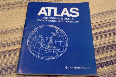 インドネシア語世界地図帳集めるマニアコレクターIMGP6890