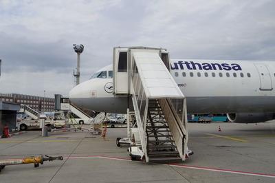 スイス旅行記 ルフトハンザ航空IMGP3983