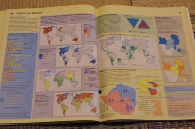ジンバブエ世界地図帳集めるマニアコレクターIMGP6866