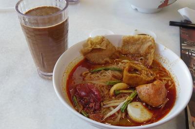 マレーシア国際空港KLIAオールドタウンホワイトコーヒーIMGP5886