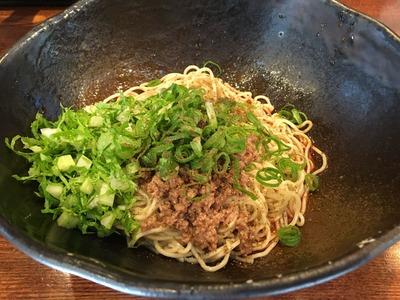 キング軒 浜松町 芝公園 大門 広島汁無し担々麺IMG_0764