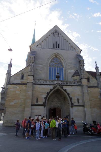 スイス旅行記 チューリッヒ 観光IMGP3884
