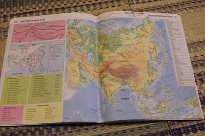 マレーシアマレー語世界地図帳集めるマニアコレクターIMGP6816