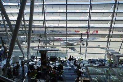 スイス旅行記 チューリッヒ国際空港IMGP3960