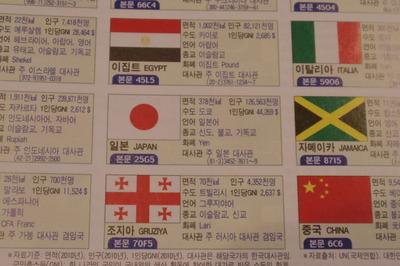韓国ハングル語世界地図帳集めるマニアコレクターIMGP6974