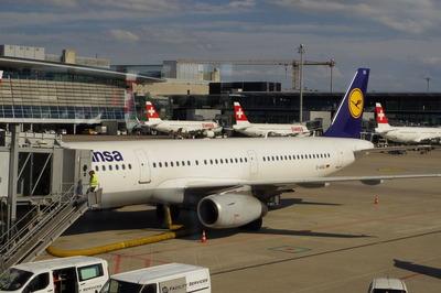 スイス旅行記 チューリッヒ国際空港IMGP3967