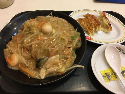 餃子の王将 荻窪 揚げそばIMG_2439