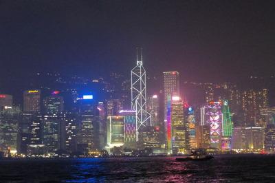 香港 シンフォニーオブライツ 夜景IMGP4101