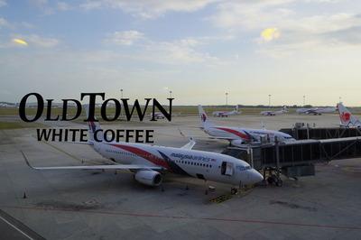 マレーシア国際空港KLIAオールドタウンホワイトコーヒーIMGP5883