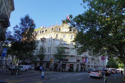 チューリッヒ アンバサダーホテル レストランオペラIMGP3812