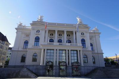 スイス旅行記 チューリッヒ オペラ座 観光IMGP3849