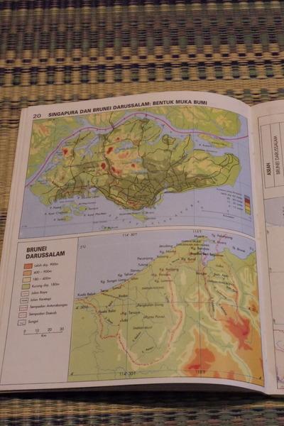 マレーシアマレー語世界地図帳集めるマニアコレクターIMGP6813