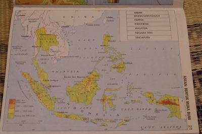 マレーシアマレー語世界地図帳集めるマニアコレクターIMGP6814