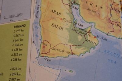 マレーシアマレー語世界地図帳集めるマニアコレクターIMGP6817