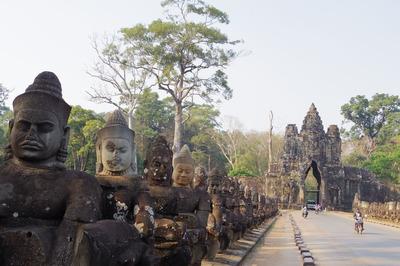 アンコールトム カンボジア シェムリアップIMGP5014
