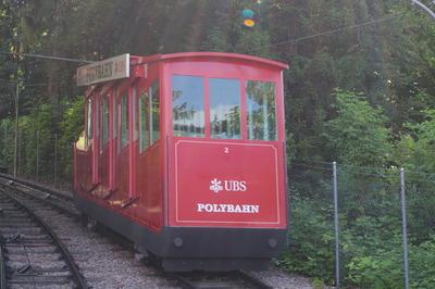 スイス チューリッヒ ポリバーン ケーブルカーIIMGP3922