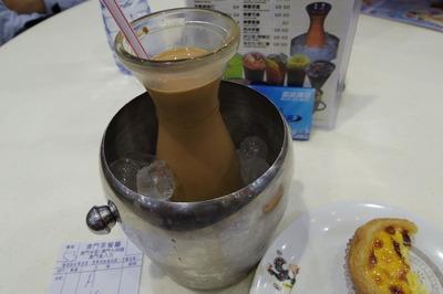 澳門茶餐廳 尖沙咀 ミルクティーIMGP4144